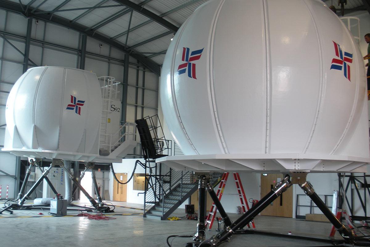 Full Flight Simulators - Frasca Flight Simulation