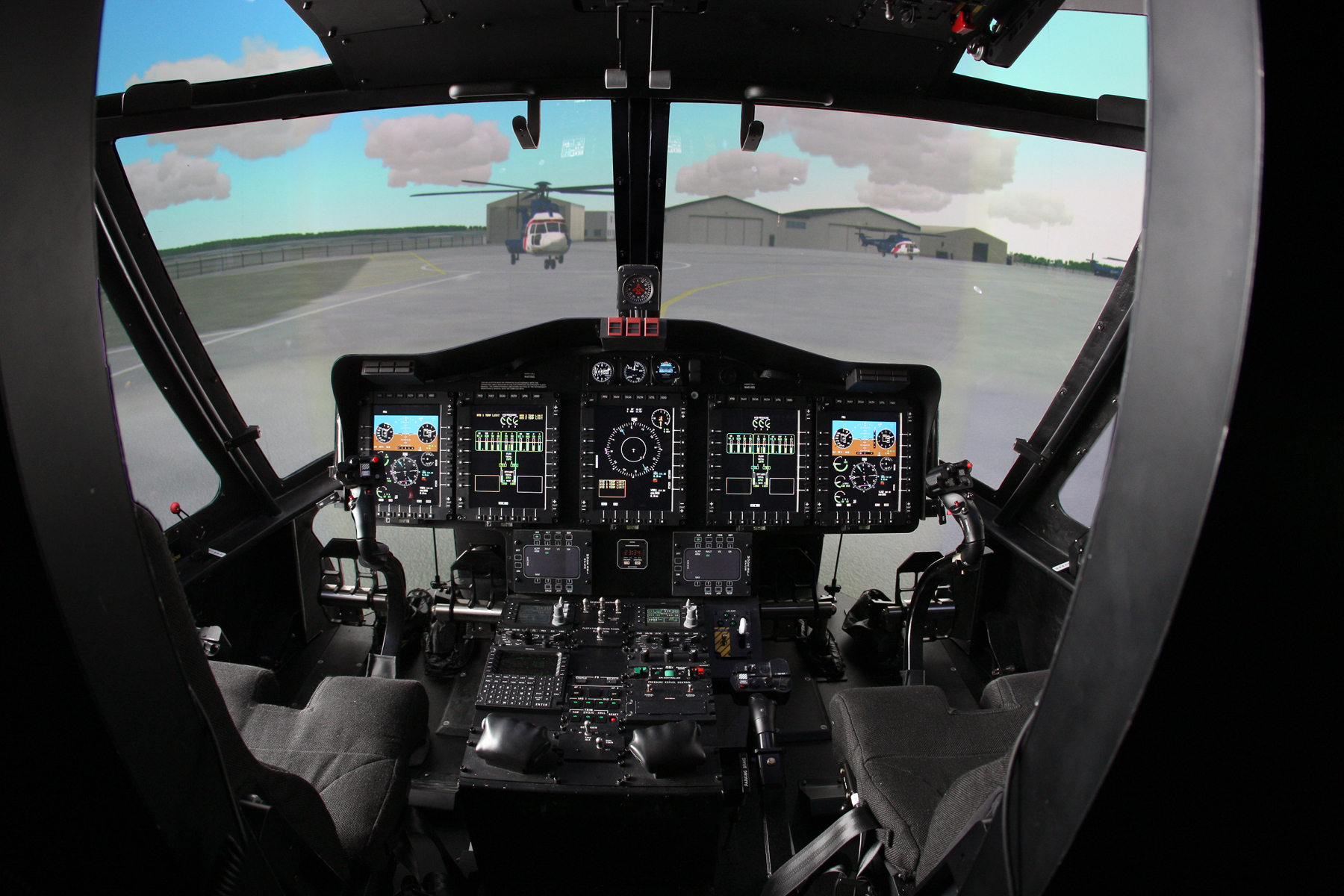 S92 Full Flight Simulator