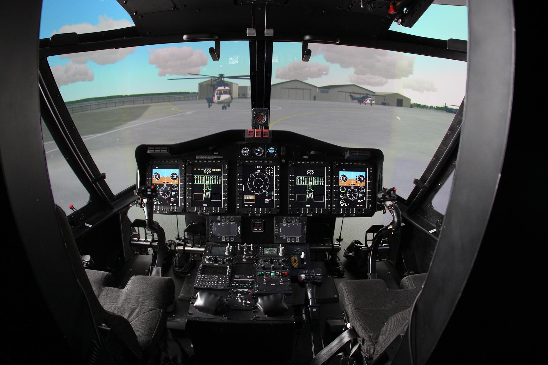 S92 Full Flight Simulator