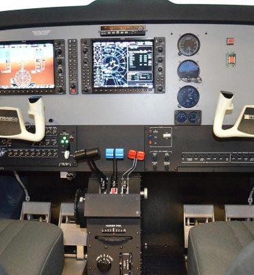 Frasca Beechcraft Baron G58 Flight Simulator