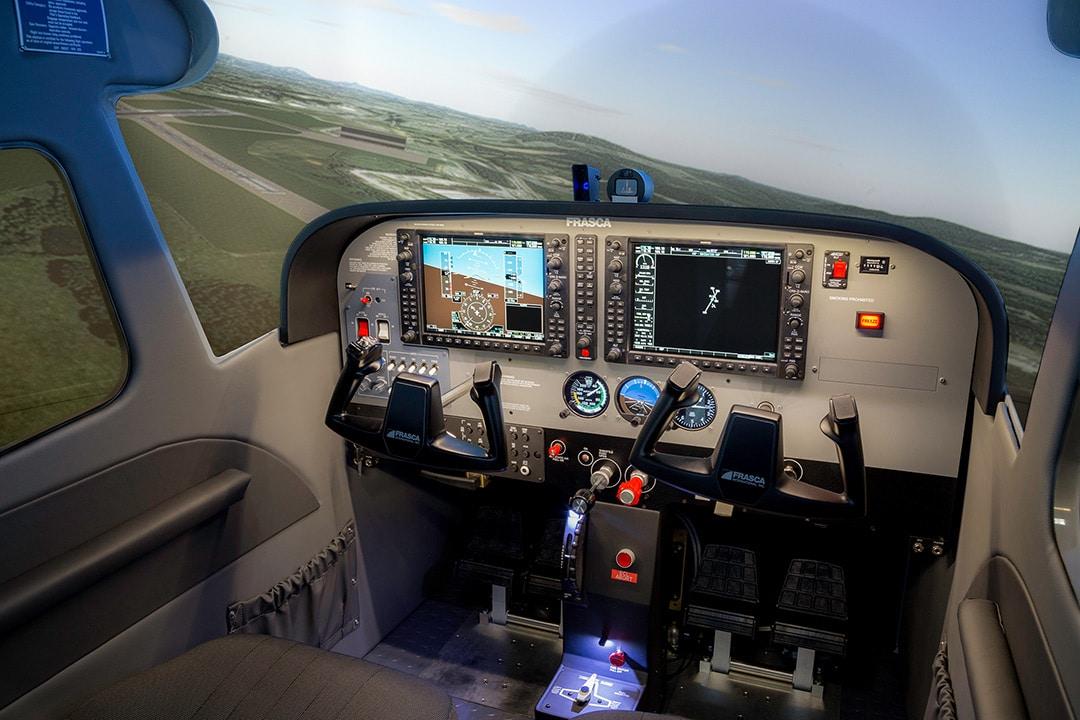 Frasca Fixed Wing Flight Simulators Full Flight Training