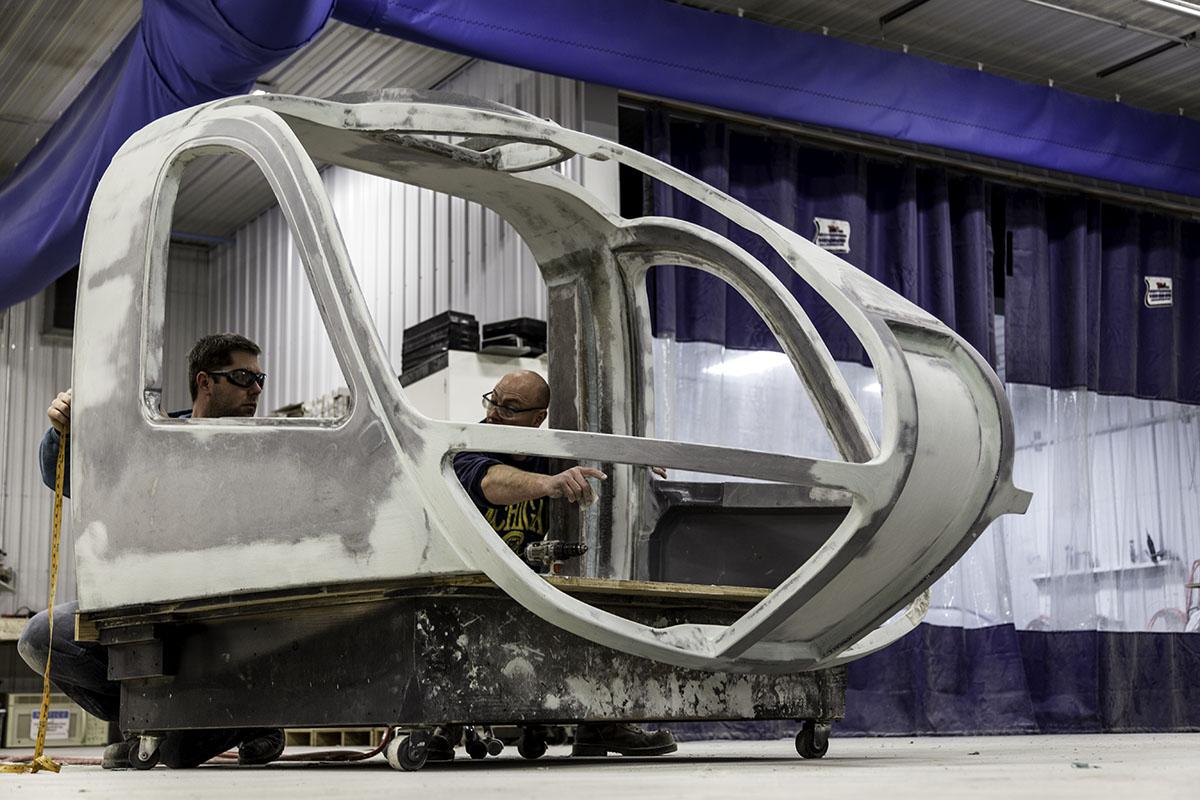 Components Cockpits Composites