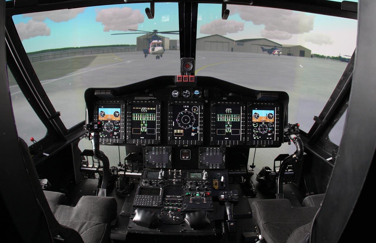 Sikorsky S92 Frasca Simulator