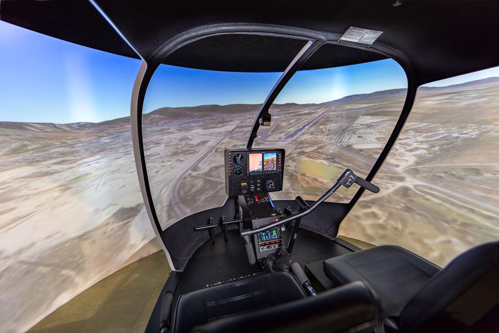 Robinson R44 Simulator - Frasca Flight Simulation