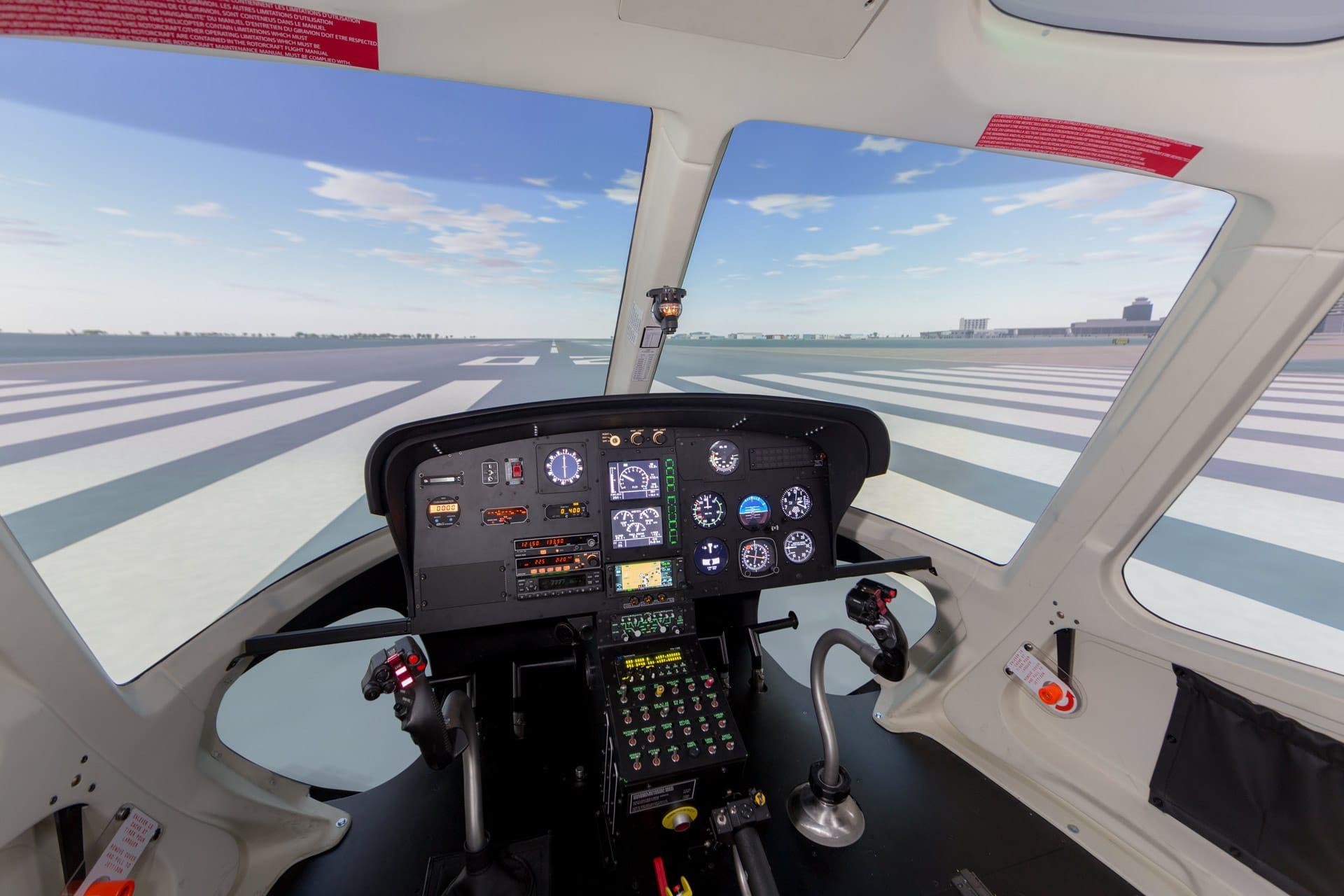 Airbus AS350 B3e H125 Simulator - Frasca Flight Simulation