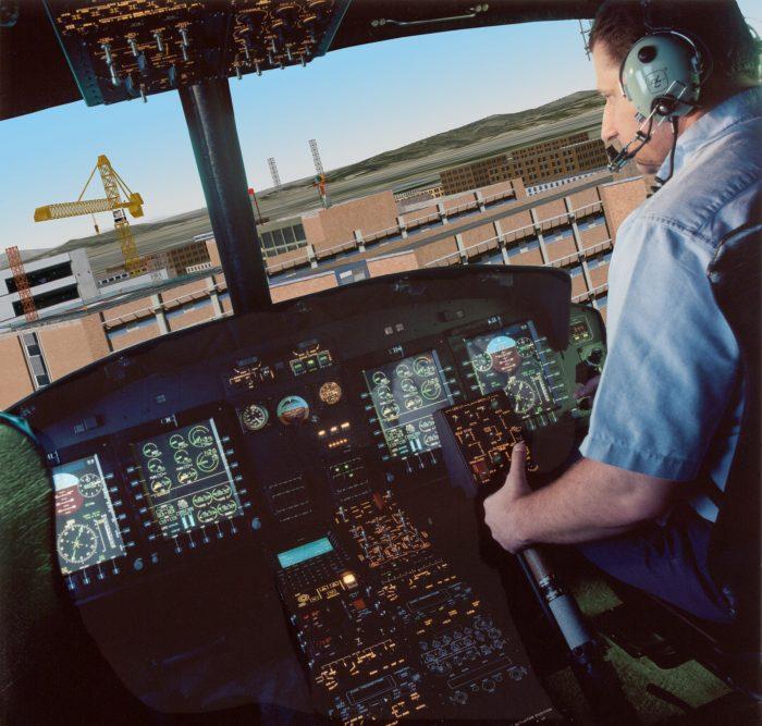 Bell 412 Simulator
