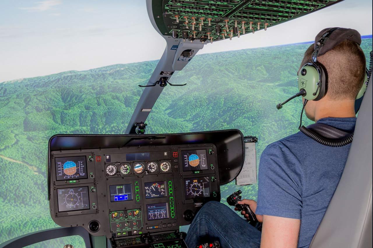 Ecocopter Takes Delivery of Frasca EC135 Simulator - Frasca