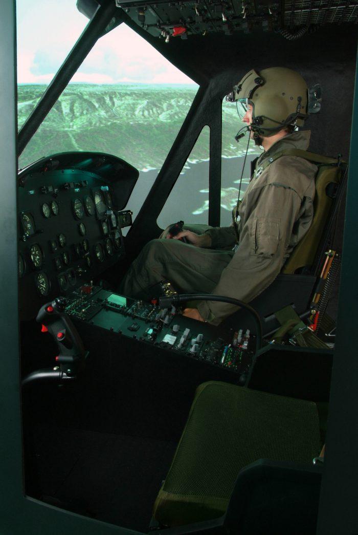Bell UH 1H Simulator