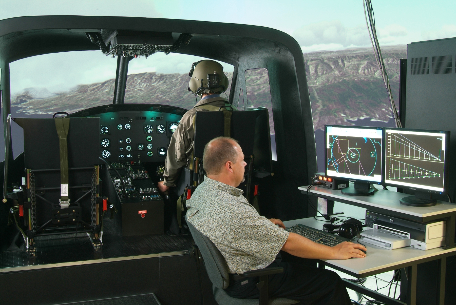 Bell UH 1H Simulator