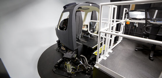 AS350 Frasca Motion Cueing System