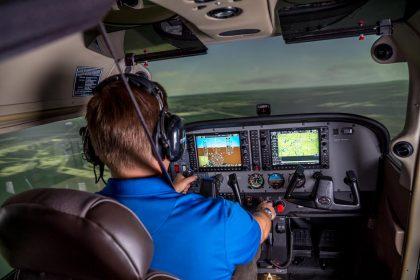 Cessna 172 Frasca Simulator