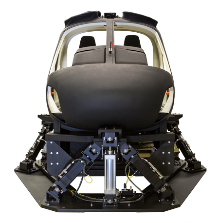 Frasca Motion Cueing System AS350