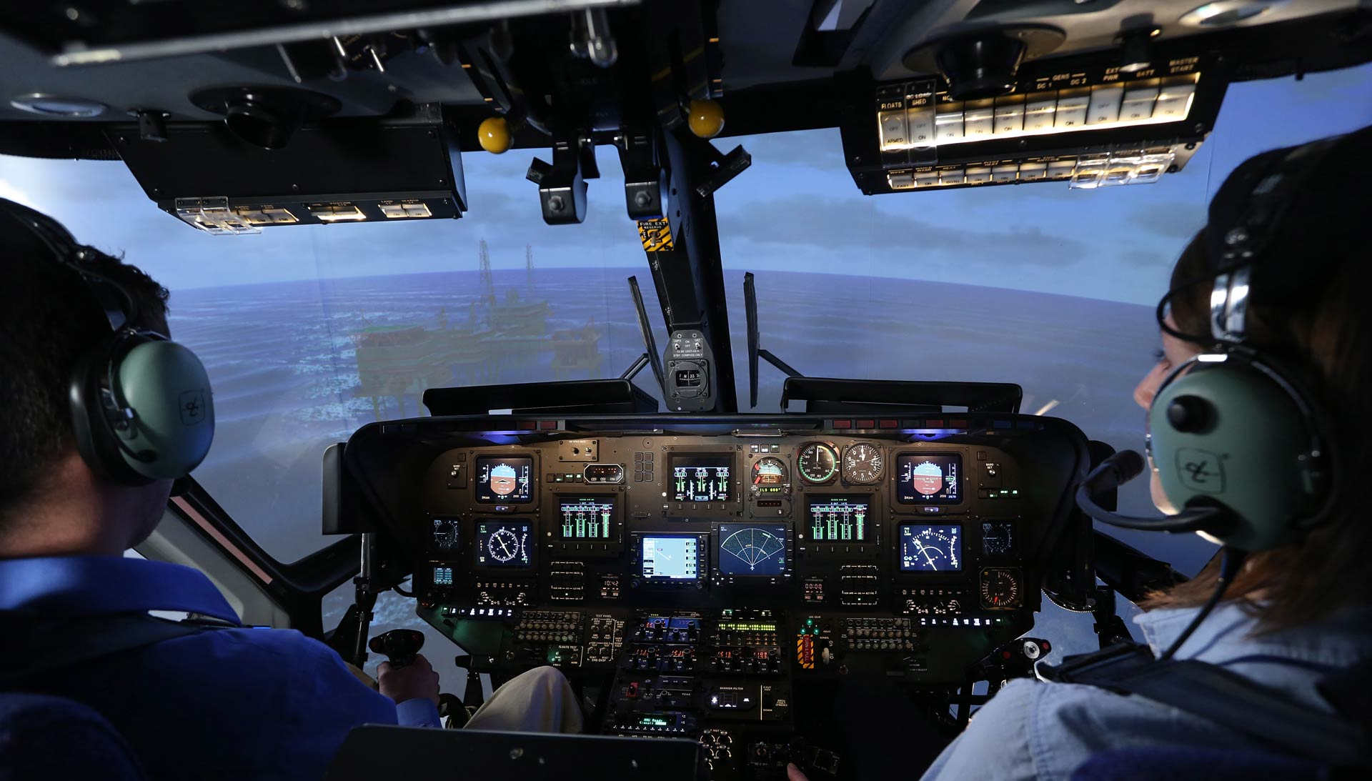 Helicopter Flight Simulators | Frasca Flight Training Devices