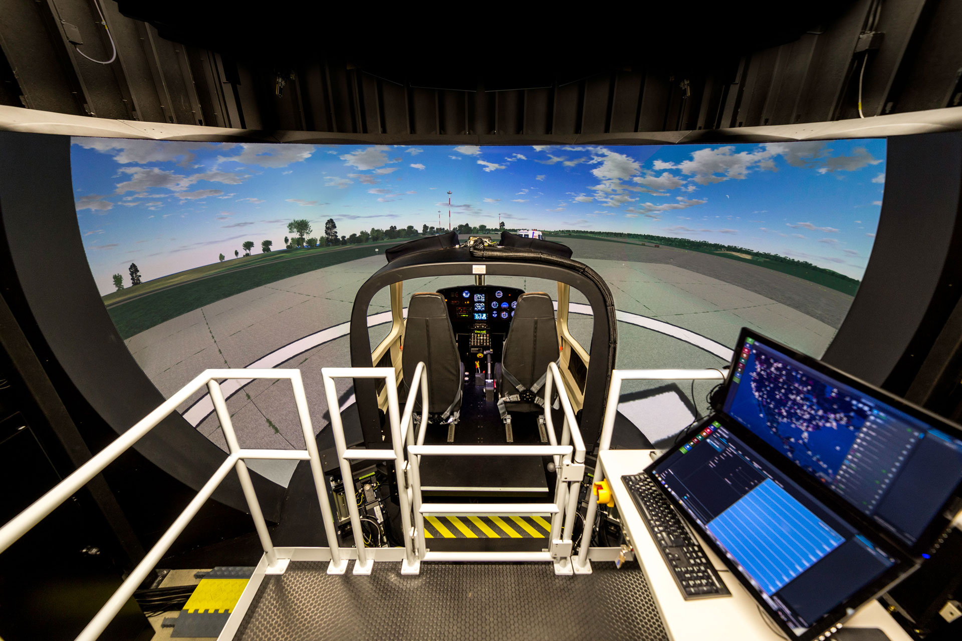 AS350 Frasca Simulator