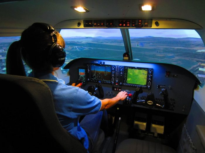 Piper Archer Frasca Simulator
