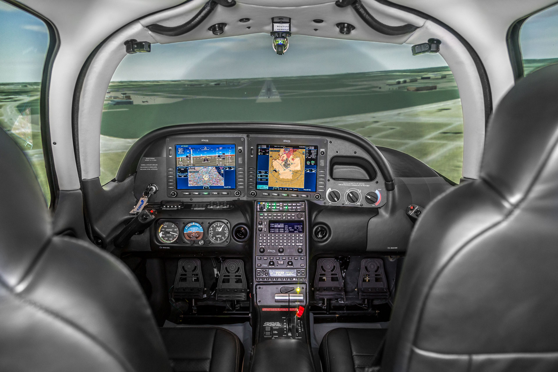 Cirrus-SR20 Frasca Simulator