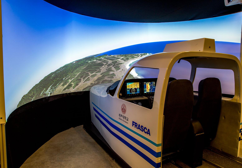 Cirrus SR22 Frasca Simulator Overview