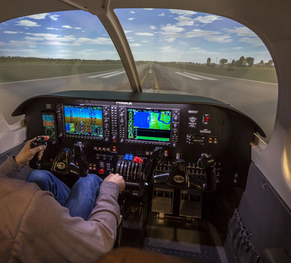 Fixed Wing Flight Simulators