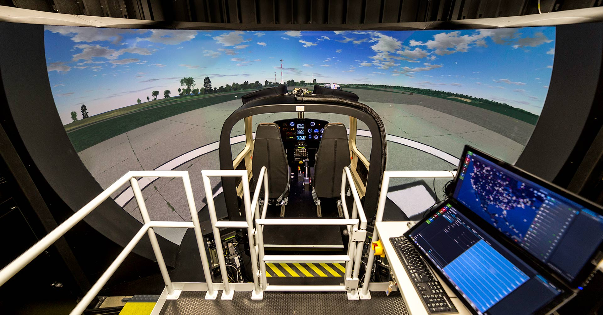 Frasca AS350 Simulator