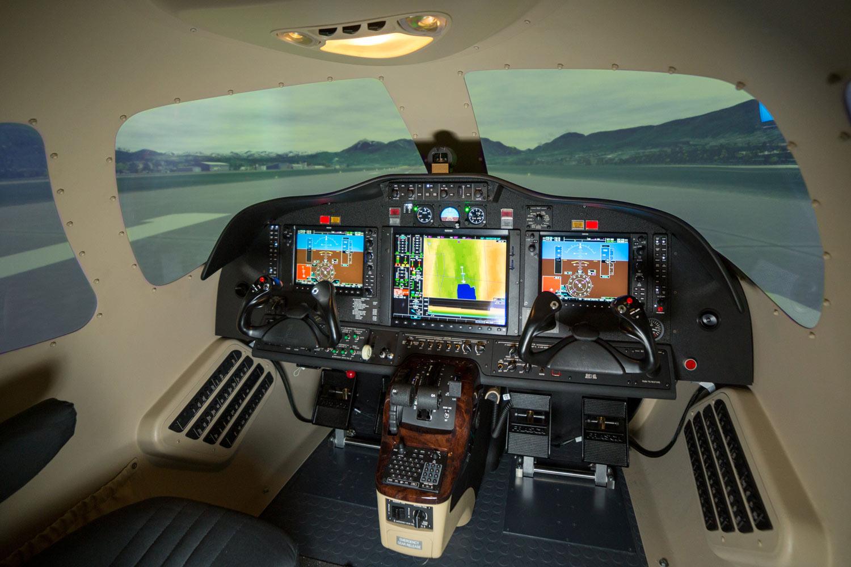 Frasca Delivers Cessna 510 Citation Mustang Business Jet