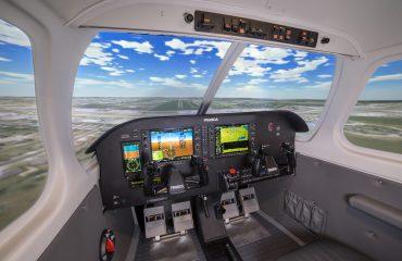 Piper Archer Frasca Simulator FSTD