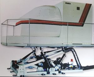 HS-125 with Motion and Hydraulic Control Loading