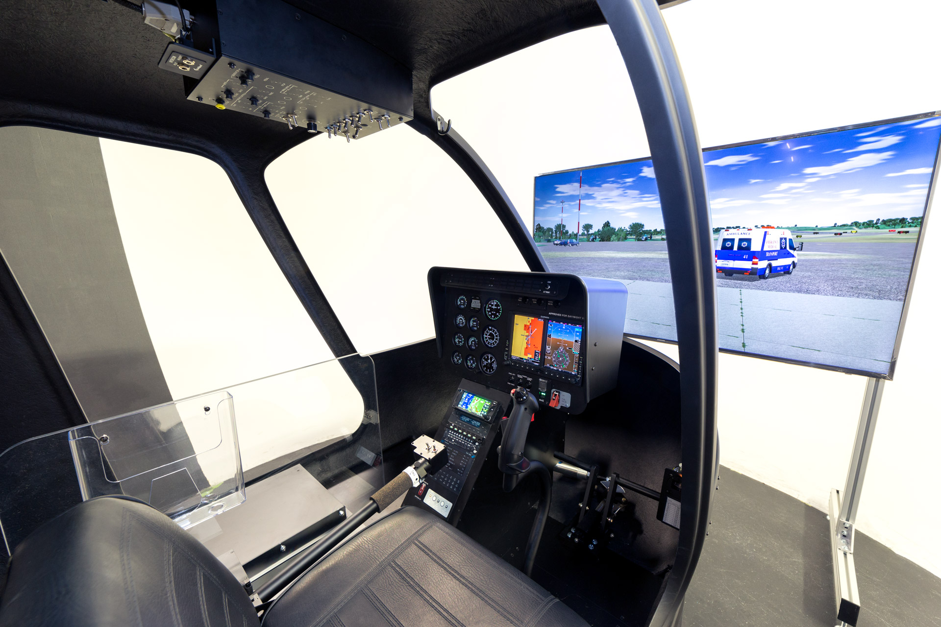 Frasca Helicopter Training Device HTD