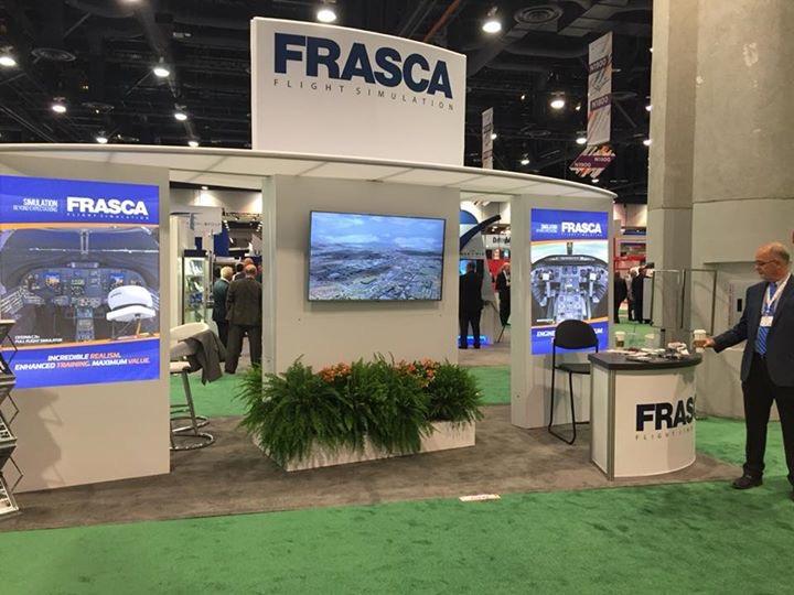 Frasca at NBAA 2017