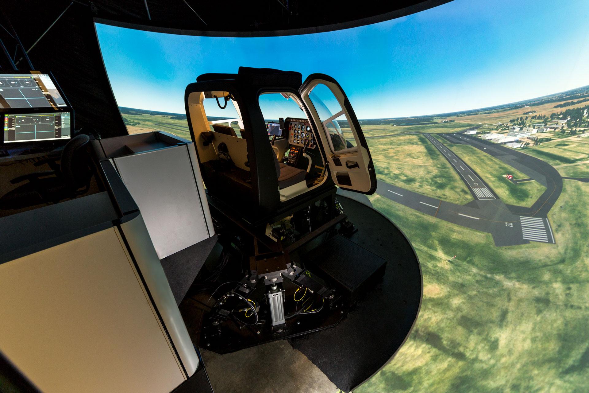 Frasca Bell 206 Simulator