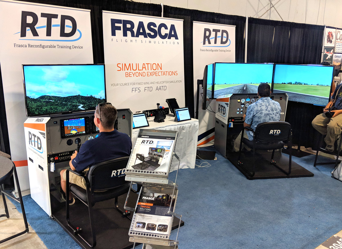 AirVenture 2018 RTD Booth