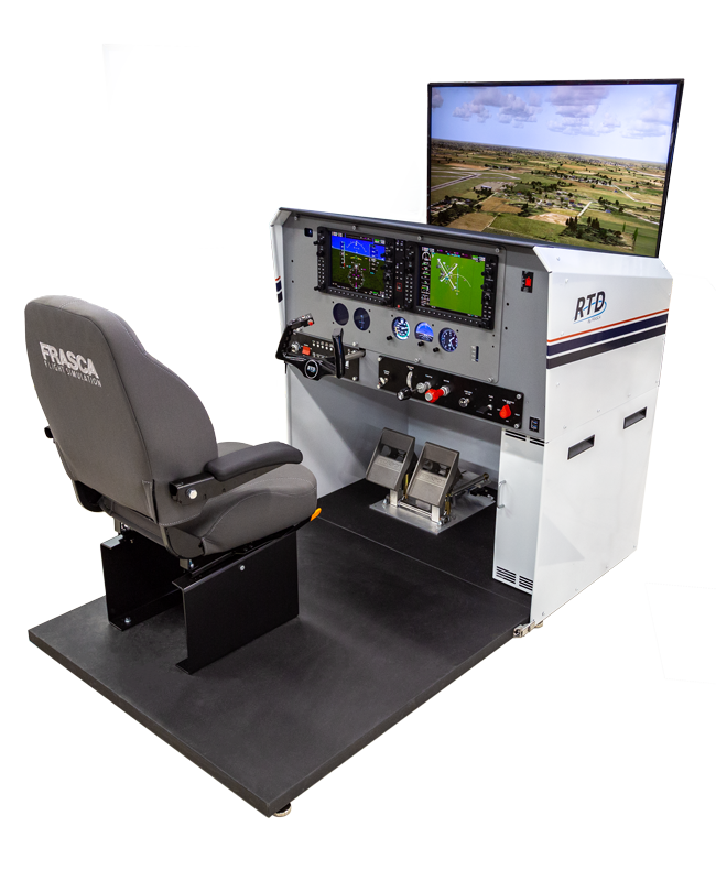 Frasca Reconfigurable Training Device - RTD - Frasca Flight Simulation