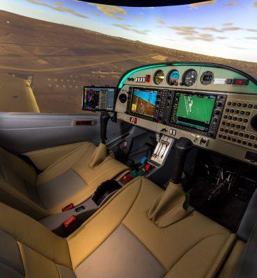 Diamond DA40 FTD Frasca Simulator