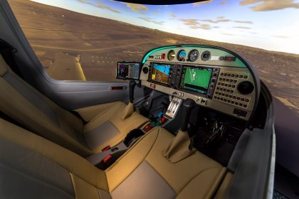 Diamond DA40 FTD Frasca Simulator
