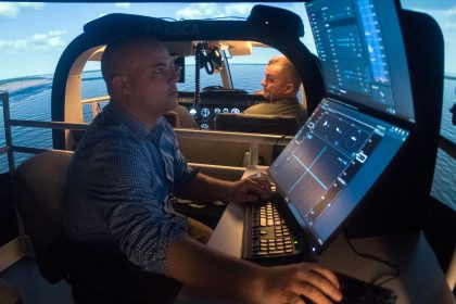 Frasca Simulator at Whiting Field