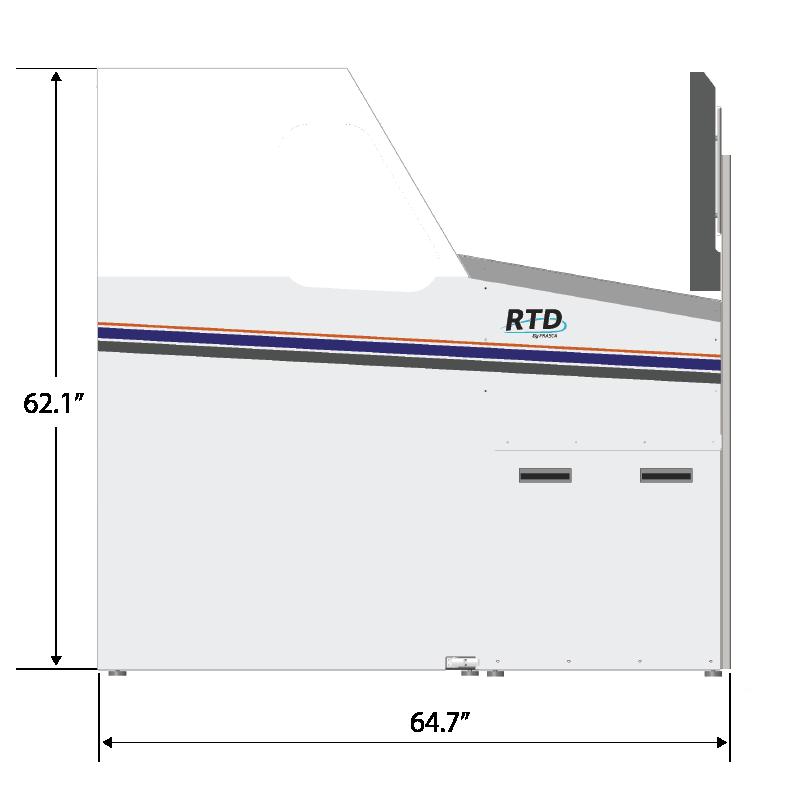 Frasca RTD Dimensions
