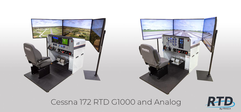 Frasca RTD Cessna 172