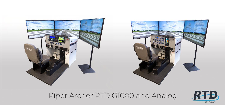 Frasca RTD Piper Archer