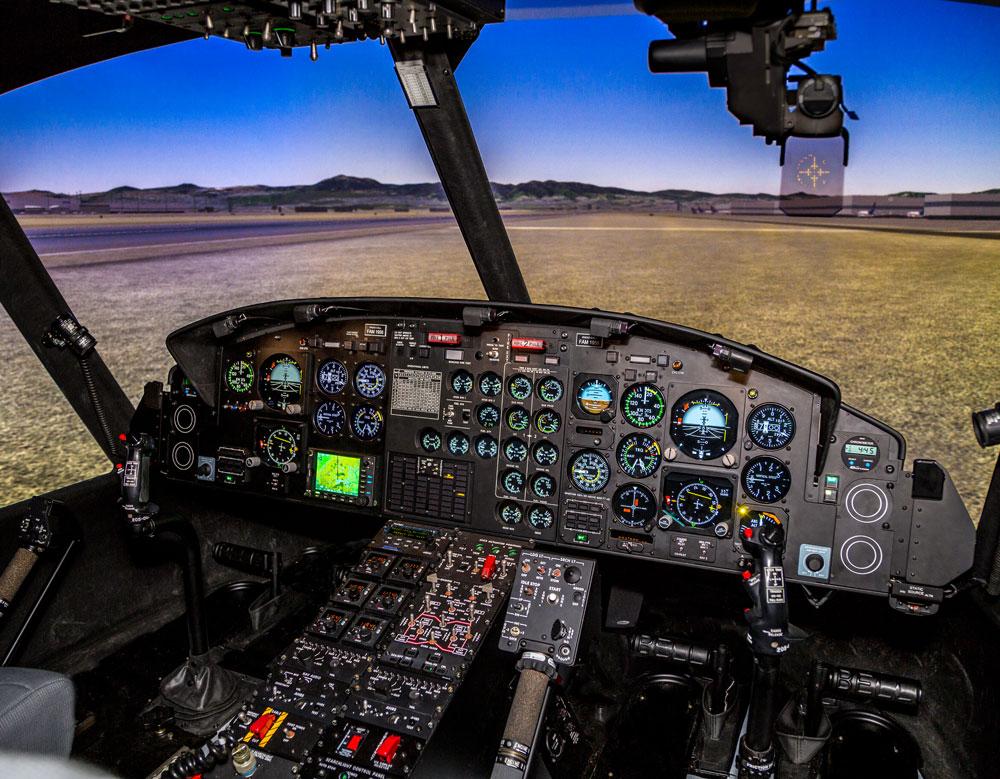 Frasca-Bell-212-412-Simulator