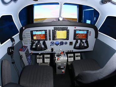 Frasca-Caravan-Military-Cockpit