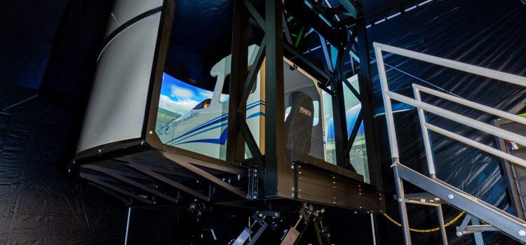 Frasca Cessna 172 Motion Flight Simulator on FMCS