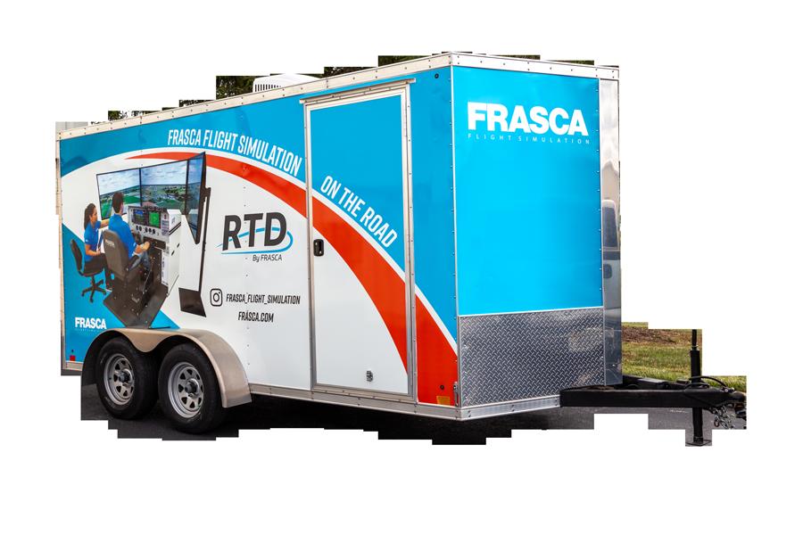 Frasca RTD Trailer