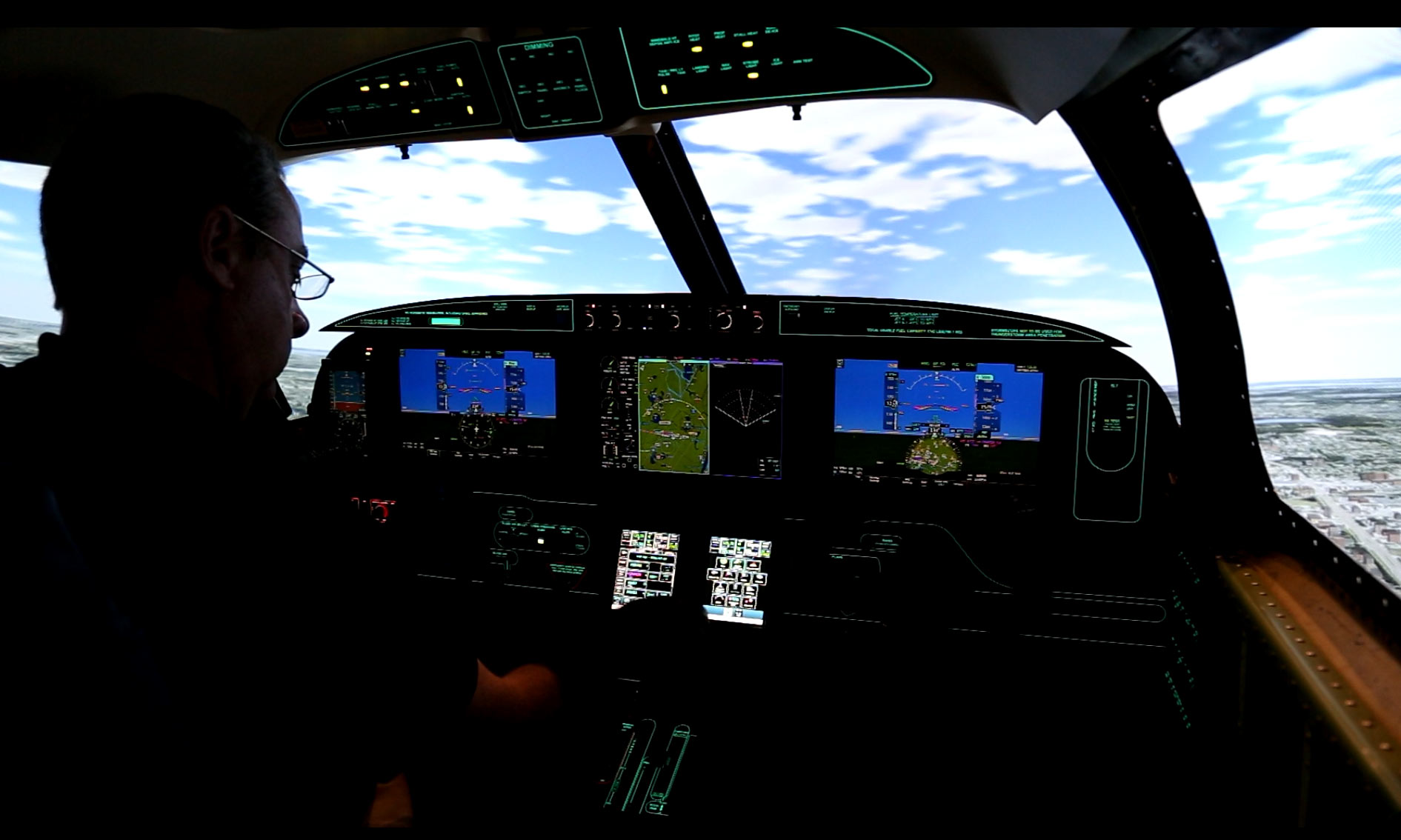 Frasca Legacy Flight Piper M600
