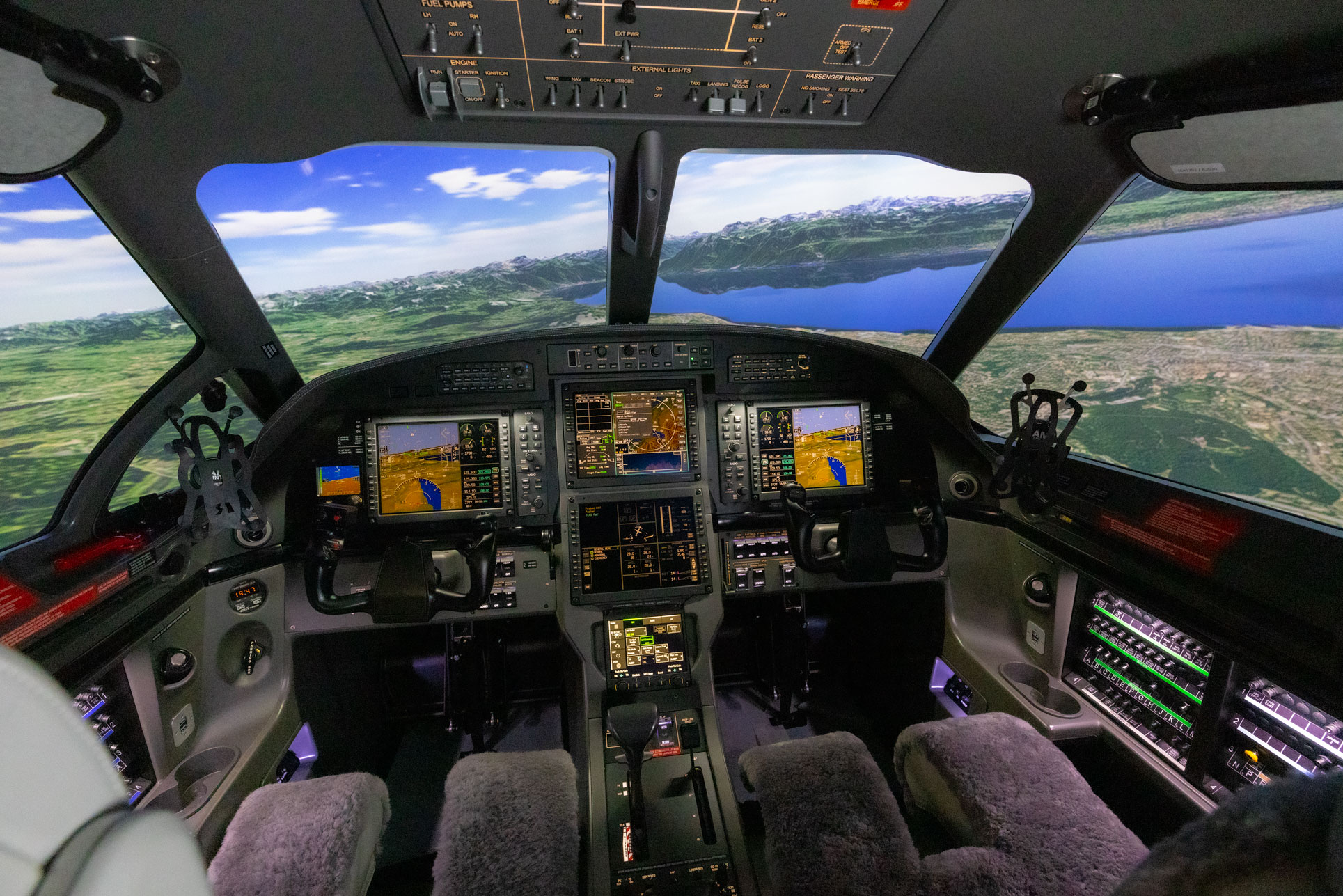 FRASCA PILATUS PC-12 Simulator