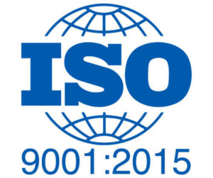 Certification to the ISO 9001:2015 Standard